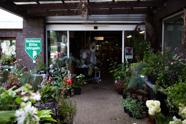 Baumschulen-Busch-Eingang