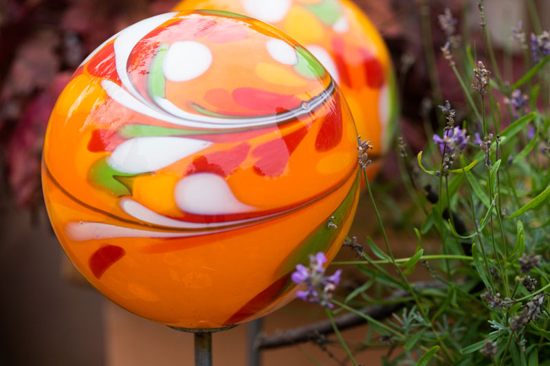 Baumschulen-Busch-Glaskugeln-Orange